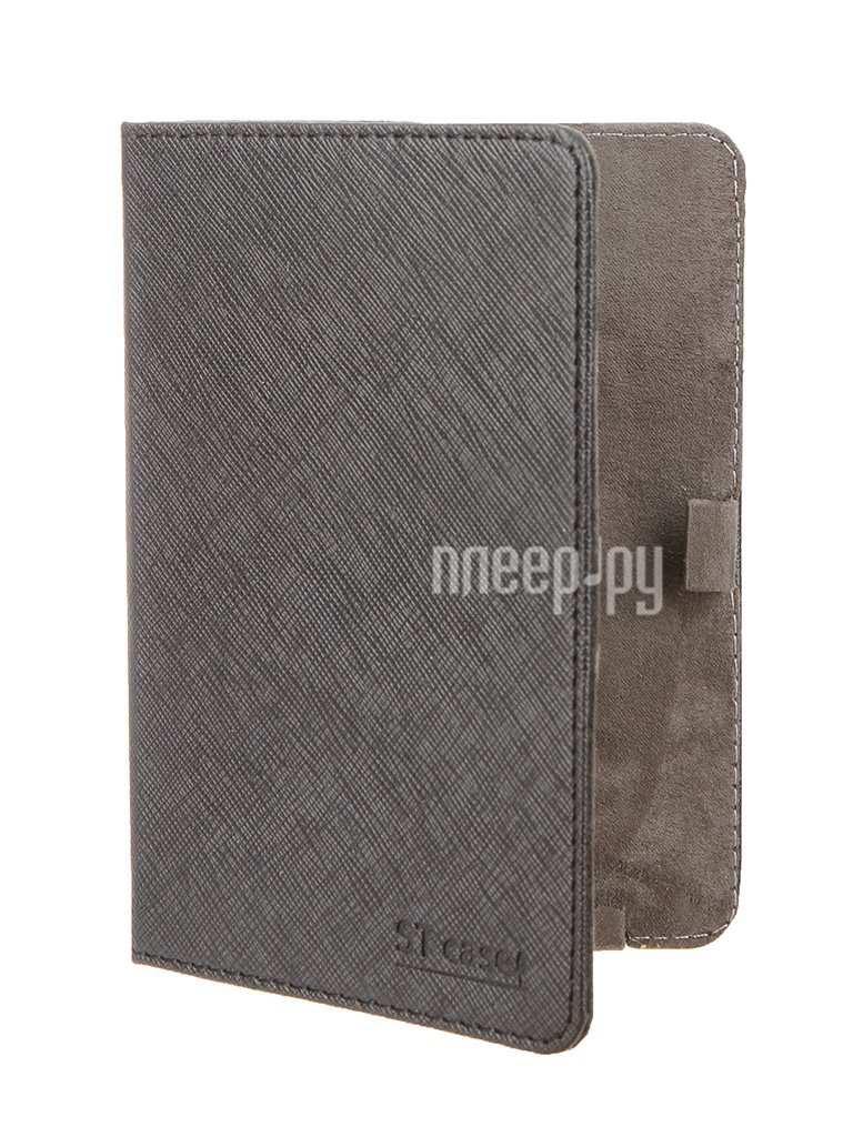 Аксессуар Чехол ST Case for Pocketbook 515 иск.кожа Black ST-c-PB515-BLK-LTH