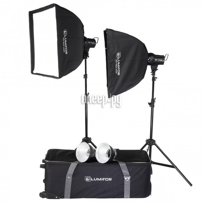 Комплект студийного света Lumifor Amato 200 Classic KIT LX-200-2SS KIT