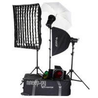 Комплект студийного света Lumifor Amato 200 Creative KIT LX-200-3SSUGB KIT