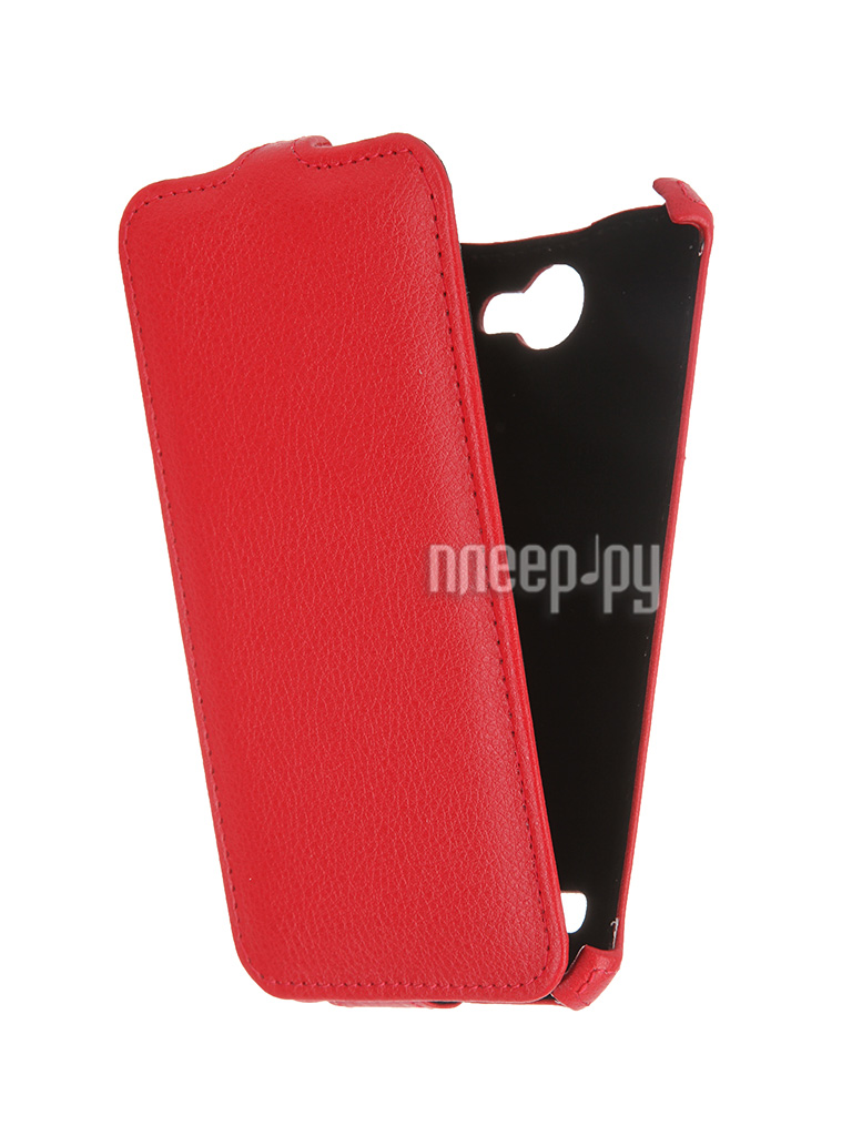 Чехол Fly FS501 Nimbus 3 Activ Flip Case Leather Violet 52677