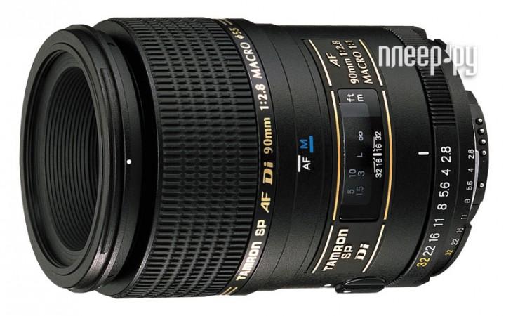 Объектив Tamron SP AF 90mm f/2.8 Di Macro 1:1 (272E) Nikon F