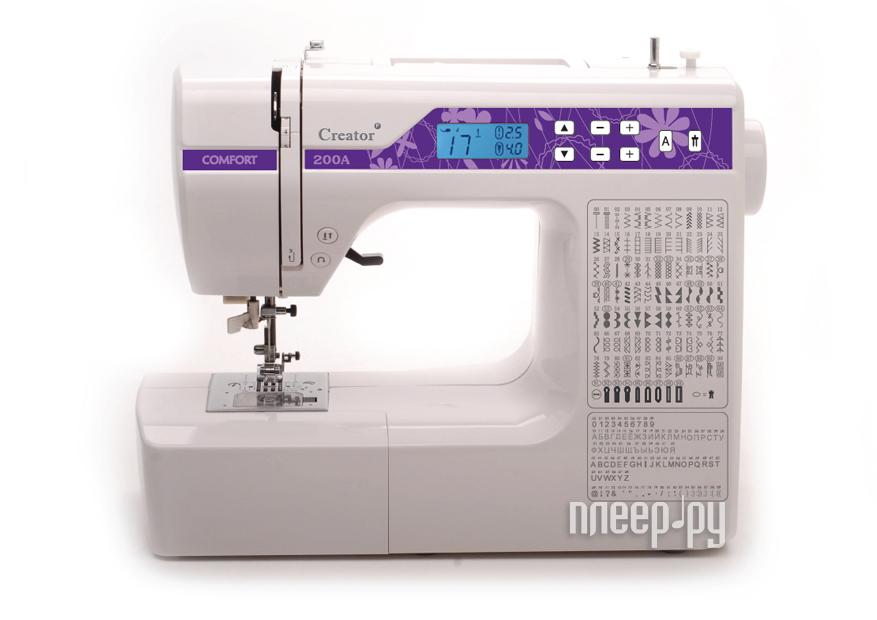 Швейная машина comfort 200а инструкция