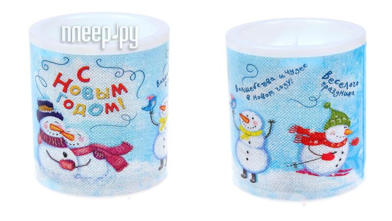 Новогодний сувенир СИМА-ЛЕНД С Новым годом, снеговики 1071916