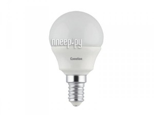 Купить Лампочка Camelion G45 5W 220V E14 3000K 390 Lm LED5-G45/830/E14