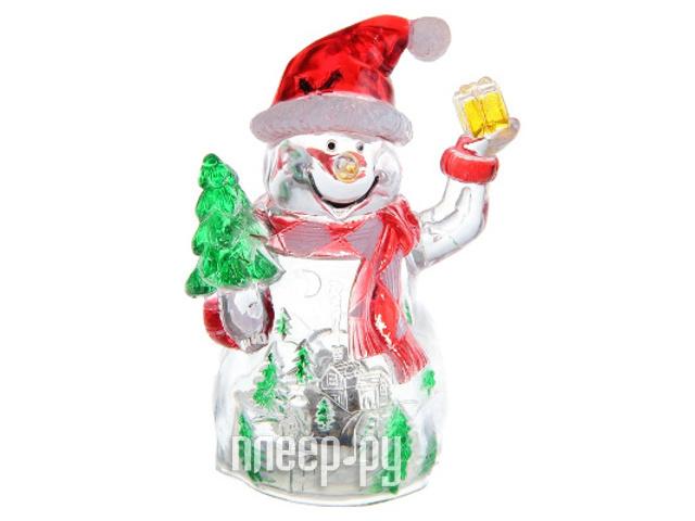Новогодний сувенир Luazon Снеговик-весельчак RGB 1077333