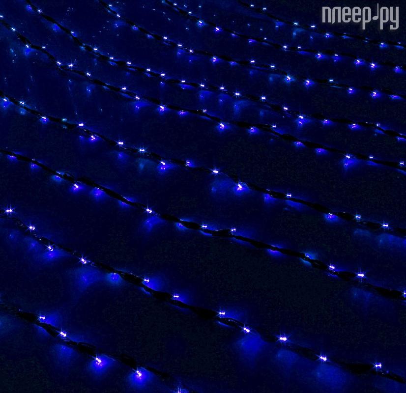 Гирлянда Luazon Дождь 2m-3m Blue 706340
