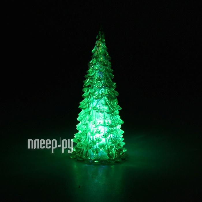 Новогодний сувенир Luazon Мерцающая елочка Green 602882