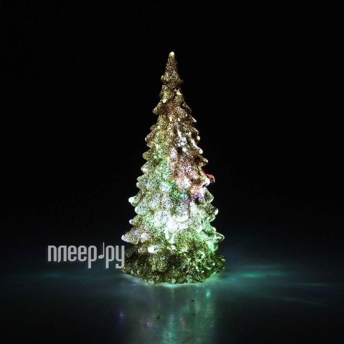 Новогодний сувенир Luazon Мерцающая елочка Gold 602883