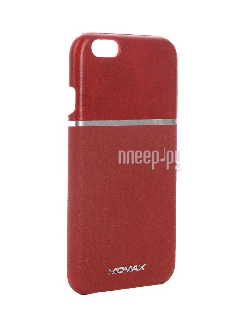Аксессуар Чехол-накладка MOMAX Elite для APPLE iPhone 6 FTAPIP6BDD Red