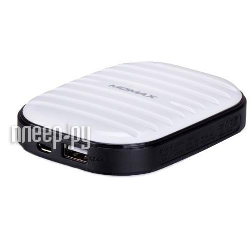 Аккумулятор MOMAX iPower Go mini 7800mAh IP35D White