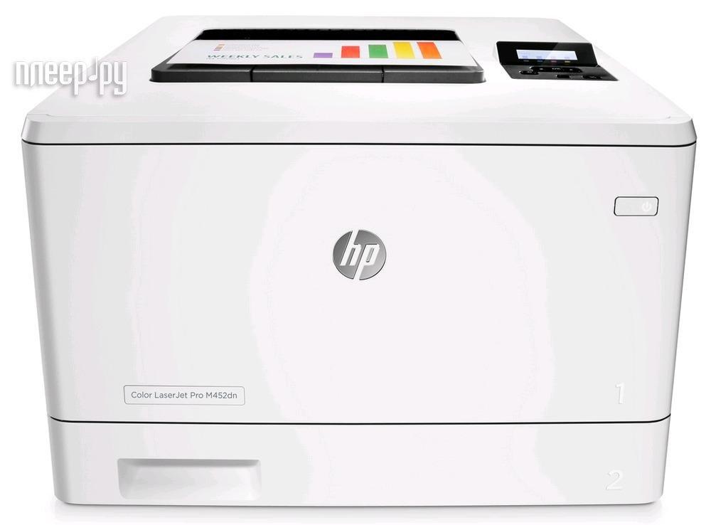 Принтер HP Color LaserJet Pro M452dn за