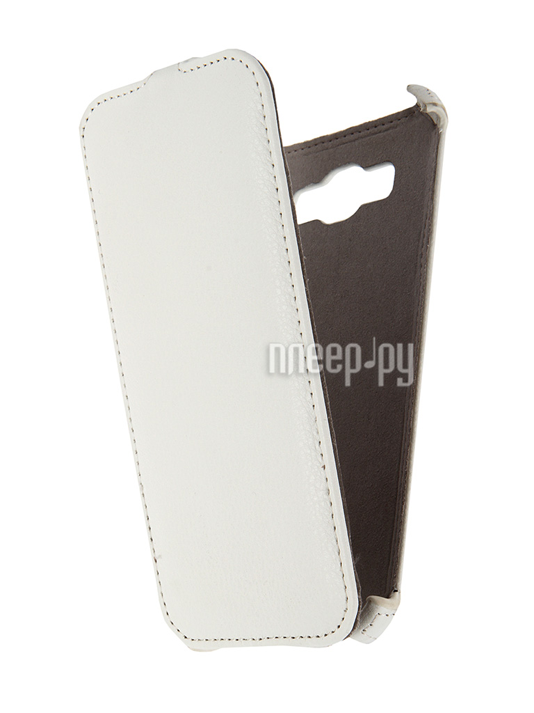 Аксессуар Чехол Samsung Galaxy A8 Activ Flip Leather White 50789