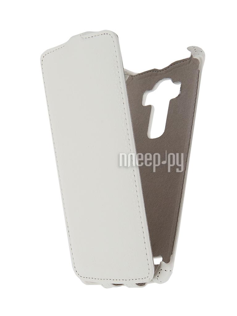Аксессуар Чехол LG G4 Activ Flip Leather White 51331