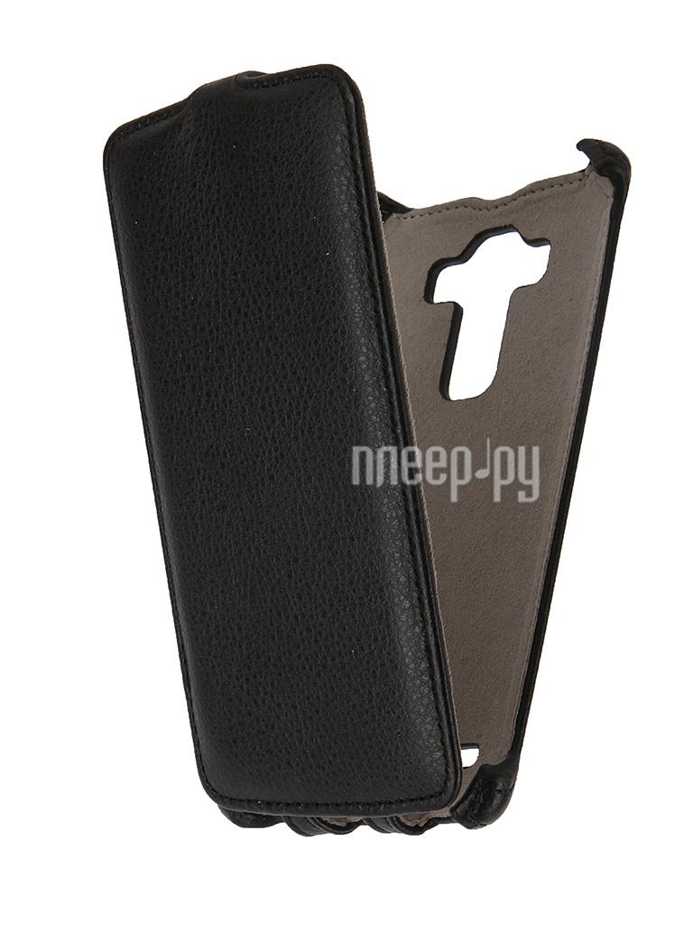 Аксессуар Чехол LG G4 Activ Flip Leather Black 51329