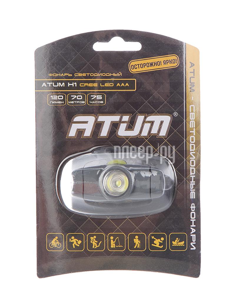 Фонарь Atum H1 CREE Led AAA