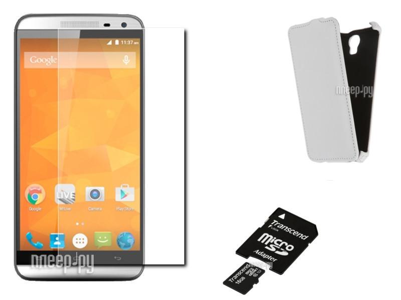 Сотовый телефон Micromax AQ5001 Canvas Power Silver Выгодный набор!!!