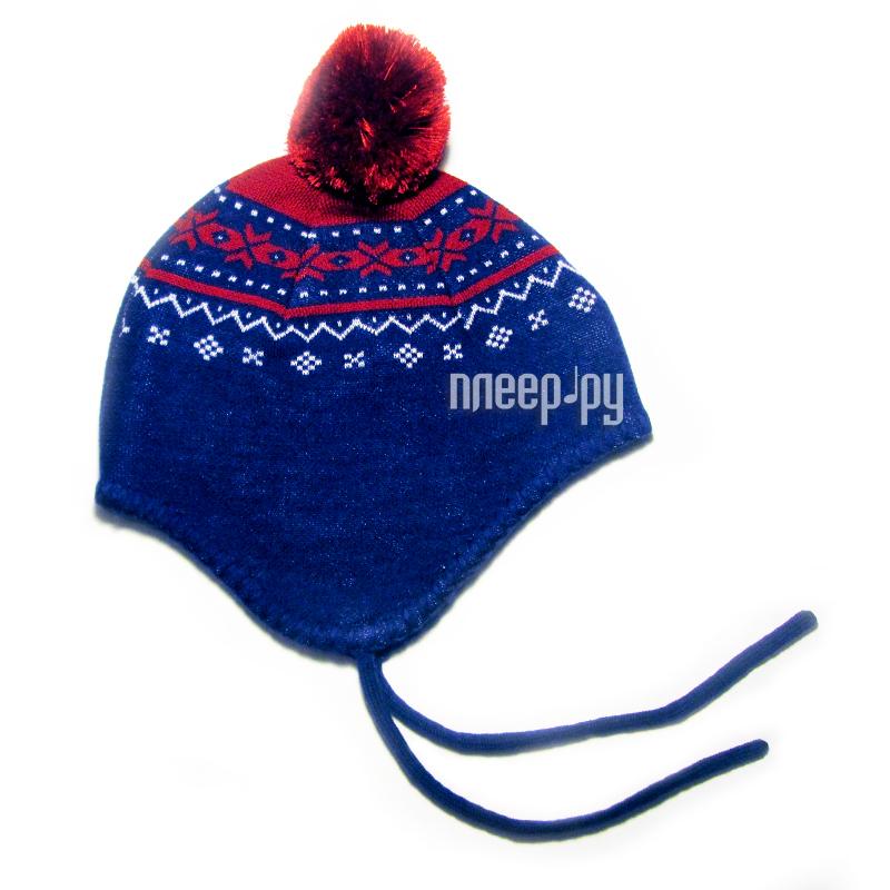 Шапочка Merri Merini 0-12 месяцев Red-Blue MM-14U