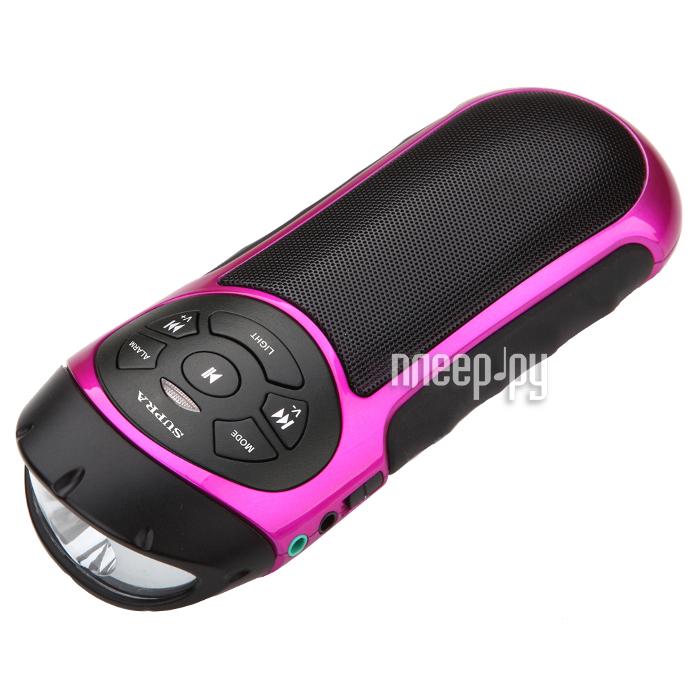 Колонка SUPRA PAS-6277 Pink
