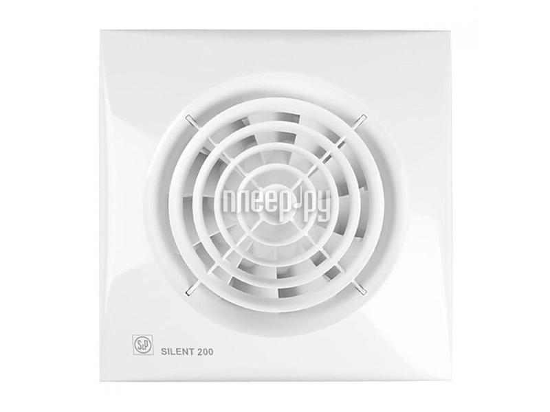Вытяжной вентилятор Soler & Palau SILENT-200 CZ White