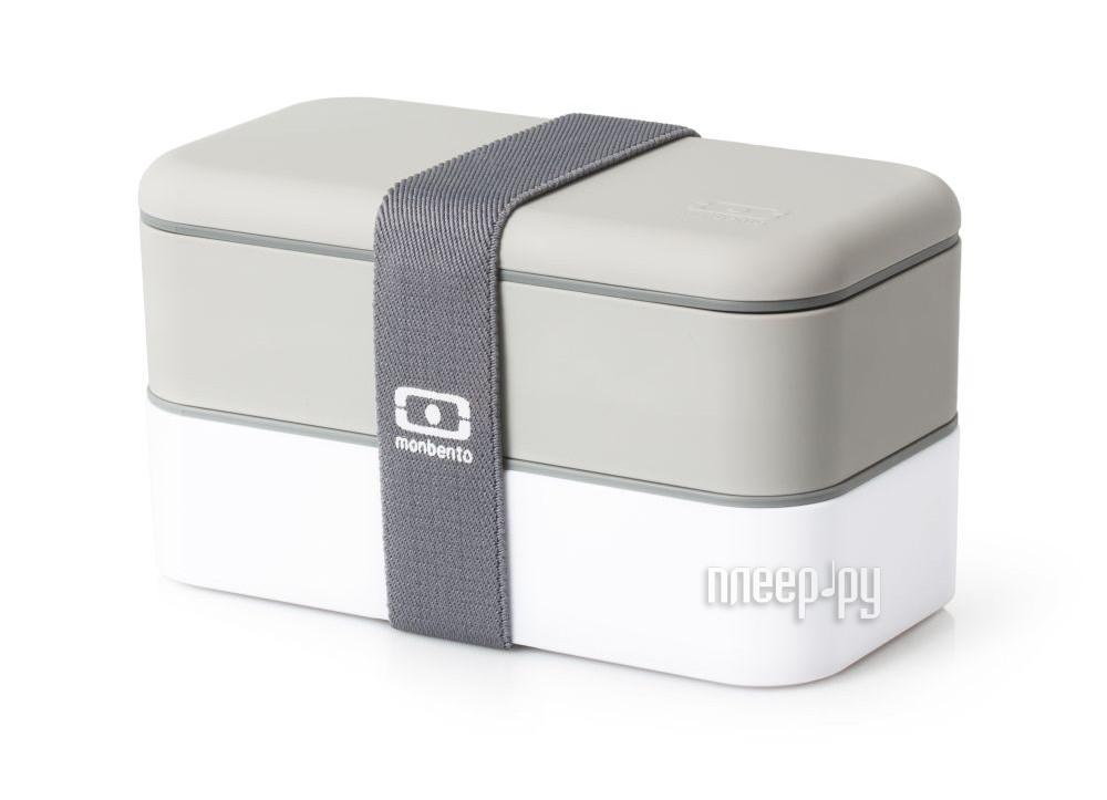 Ланч-бокс Monbento MB Original White-Grey 1200 02 110