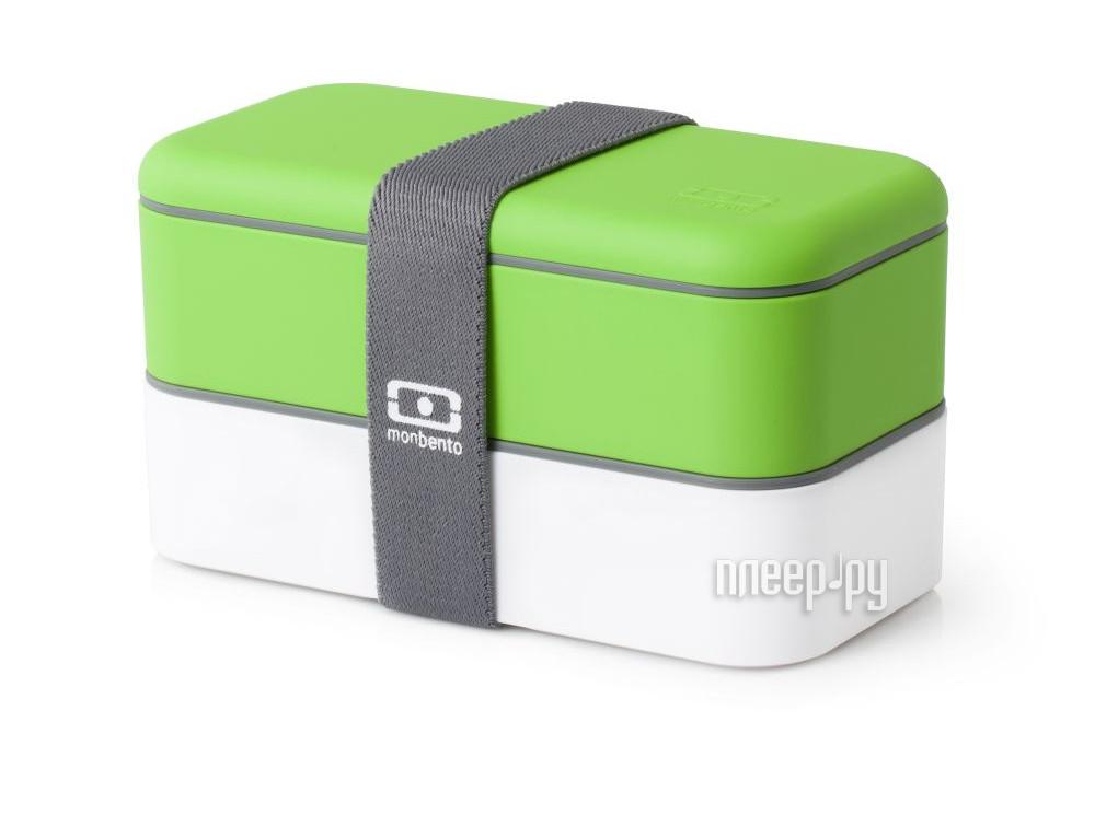 Ланч-бокс Monbento MB Original White-Green 1200 02 105