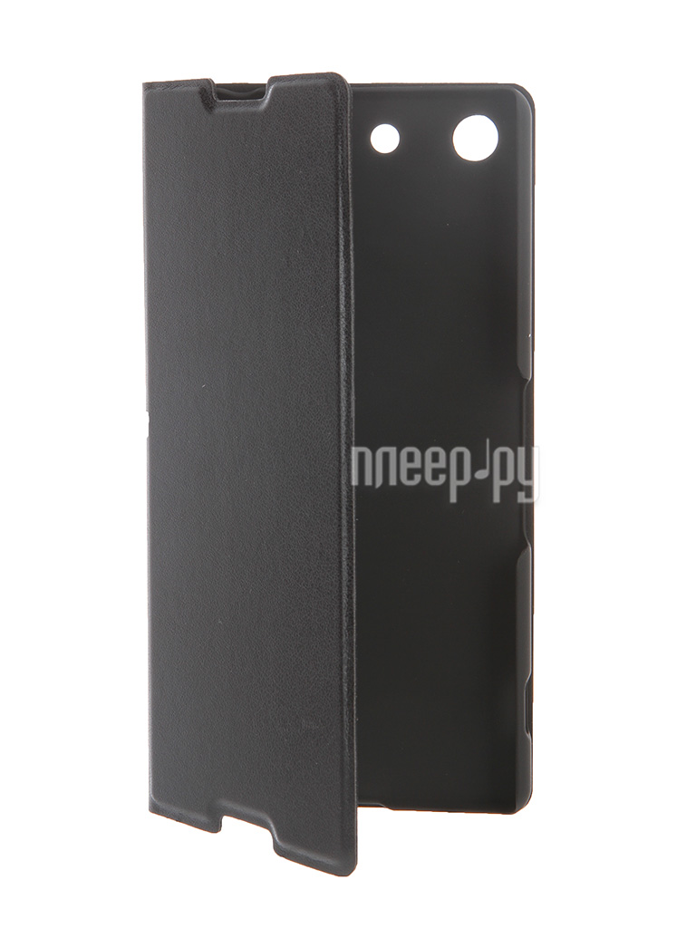 Аксессуар Чехол Sony Xperia M5 BROSCO Black M5-BOOK-BLACK