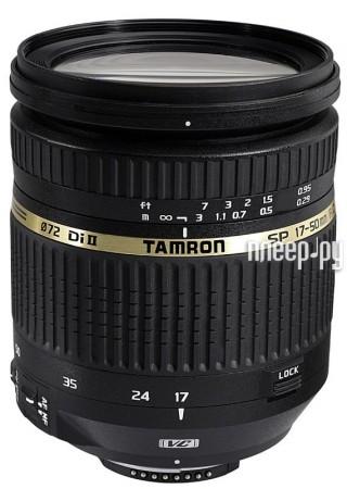 Объектив Tamron Nikon II SP AF VC 17-50 mm F / 2.8 SP XR DiII LD