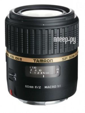 Купить Tamron Nikon SP AF 60 mm F/2.0 Di II LD Macro 1:1 (официальная гарантия от Tamron Россия) по низкой цене
