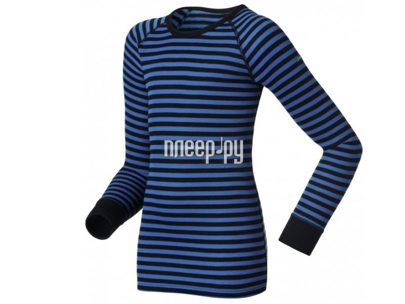 Рубашка ODLO Warm 10459-20900 Размер 140см Black-Blue