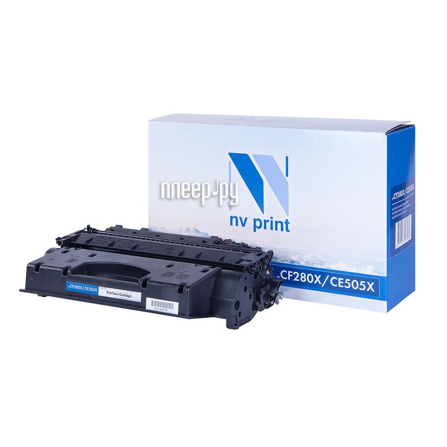 Картридж NV Print CE505X / CF280X для LJ P2035 / P2055