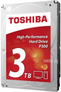Жесткий диск 3Tb - Toshiba P300 HDWD130EZSTA / HDWD130UZSVA