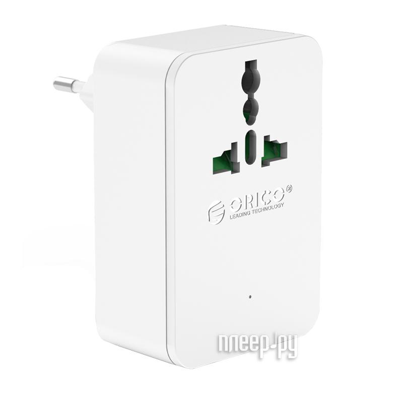 Зарядное устройство Orico S4U-TEU-WH 2.4A USB 4-Ports