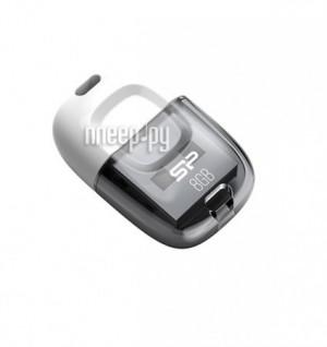 Купить USB Flash Drive 8Gb - Silicon Power Touch T09 White