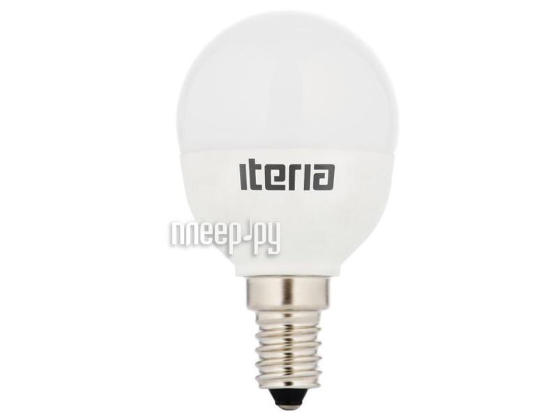 Лампочка Iteria Шар 6W 4100K E14 матовая 803006