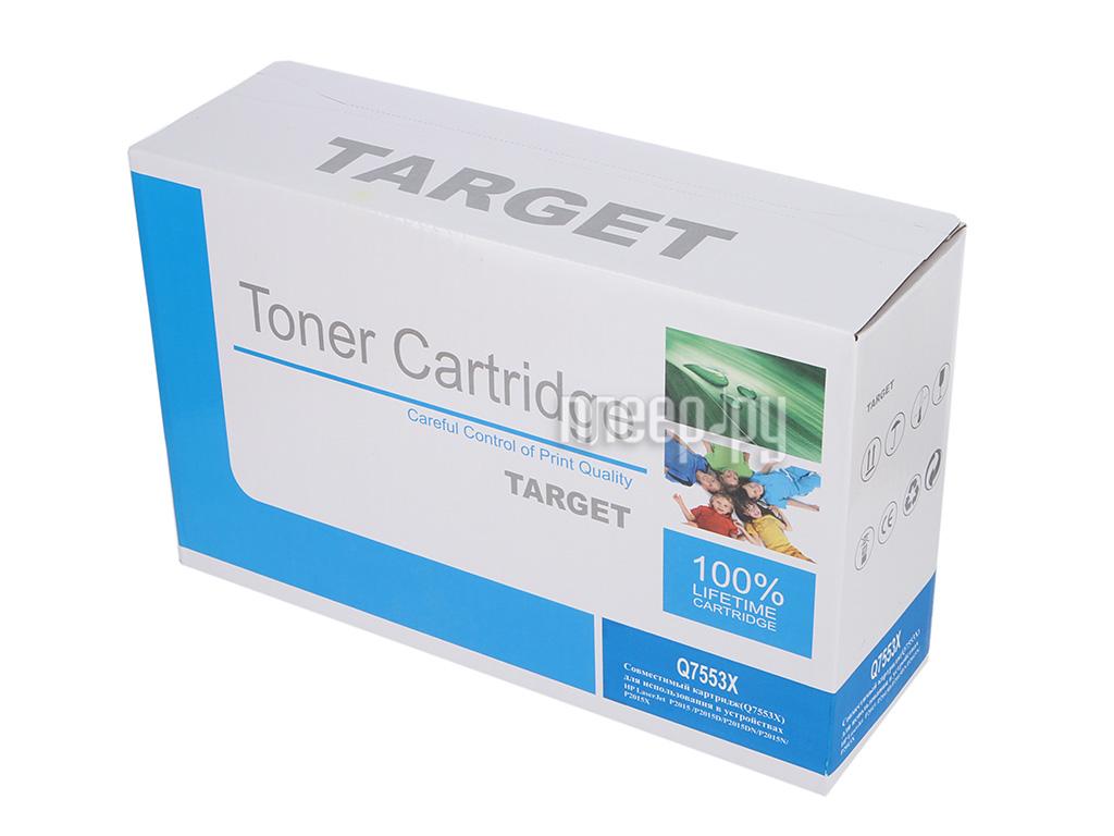 Картридж Target TR-53X Q7553X / Q7553X для HP LJ P2014 / P2015 / M2727 mfp