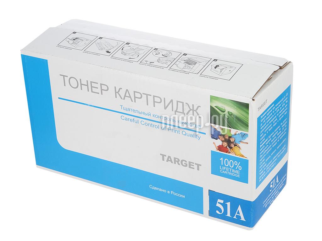 Картридж Target TR-51A / Q7551A для HP LJ P3005 / M3027mpf / M3035mpf за 1168 рублей