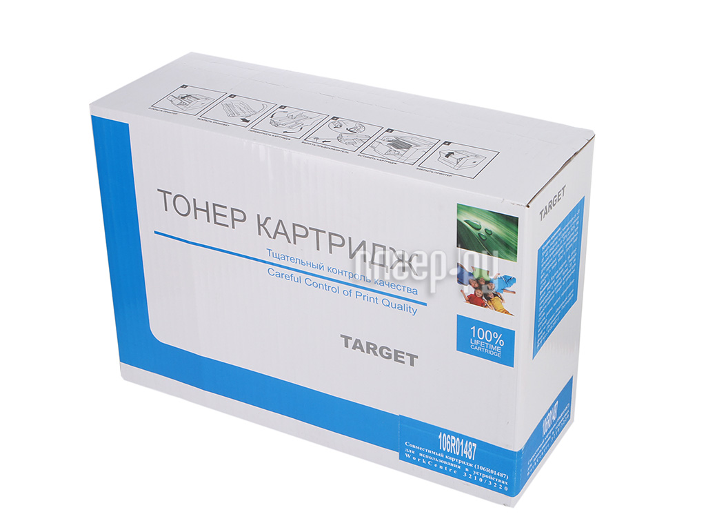 Картридж Target TR-1487 / 106R01487 для Xerox WC 3210 / 3220