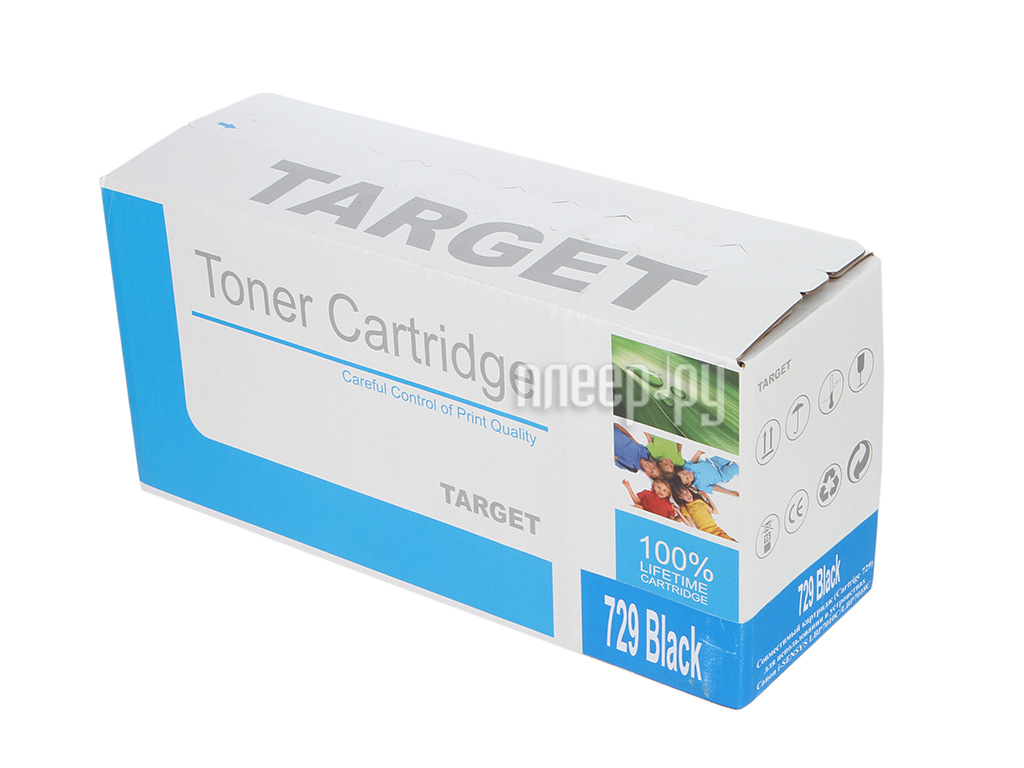 Картридж Target TR-729BK / CRG-729K для Canon i-SENSYS LBP-7010 Color Black