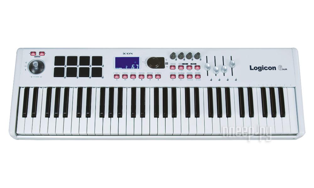 MIDI-клавиатура ICON Logicon 6 air
