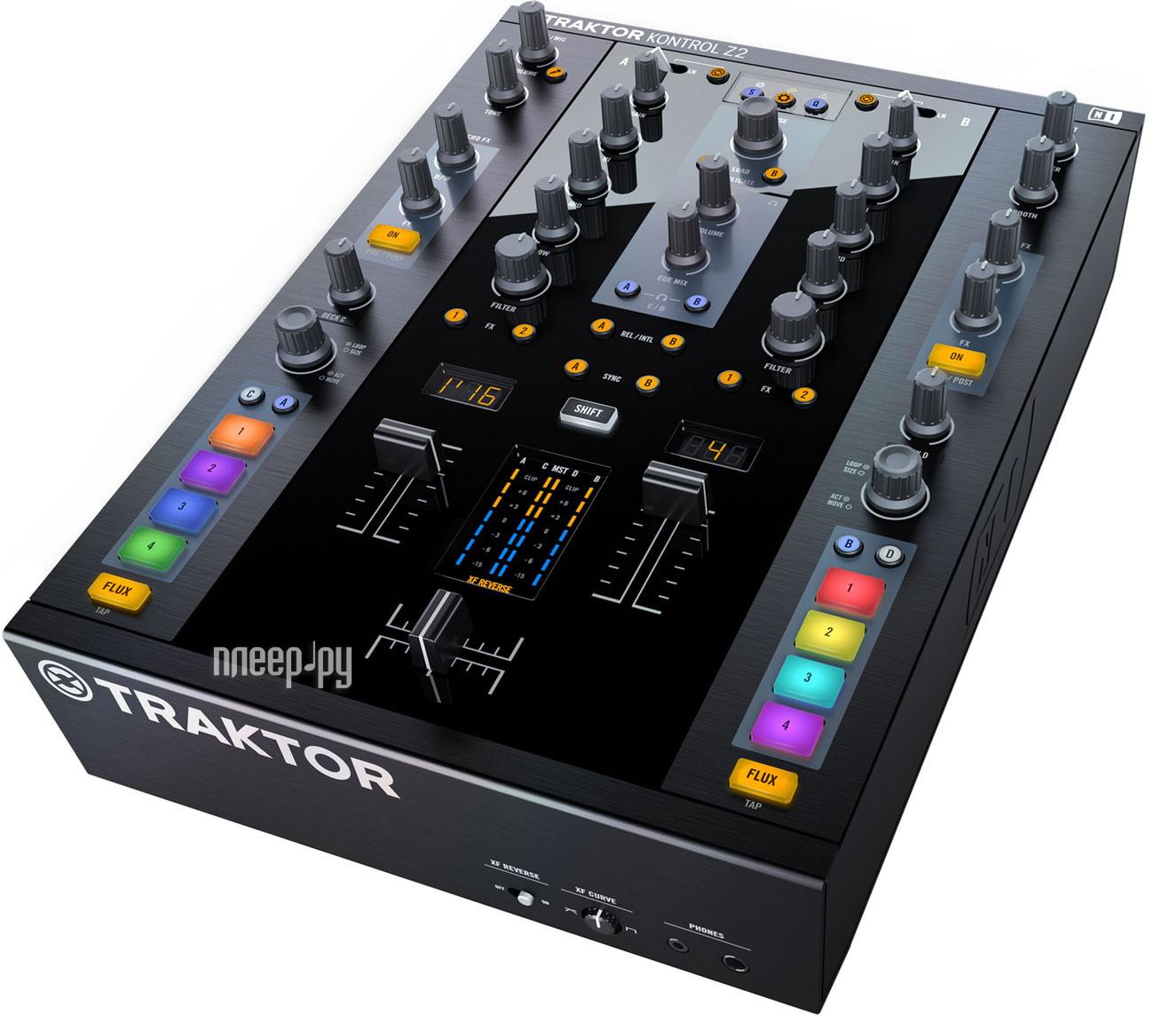 MIDI-контроллер Native Instruments Traktor Kontrol Z2