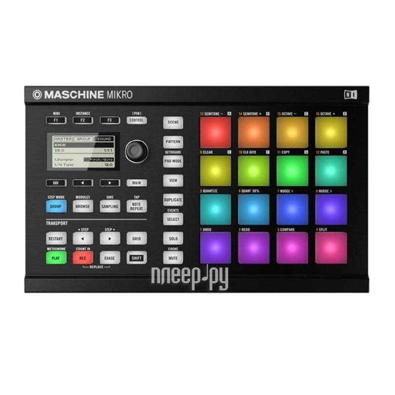 MIDI-контроллер Native Instruments Maschine Mikro mk2