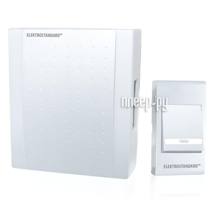 Звонок дверной Elektrostandard DBQ15 WM 1M IP44 White