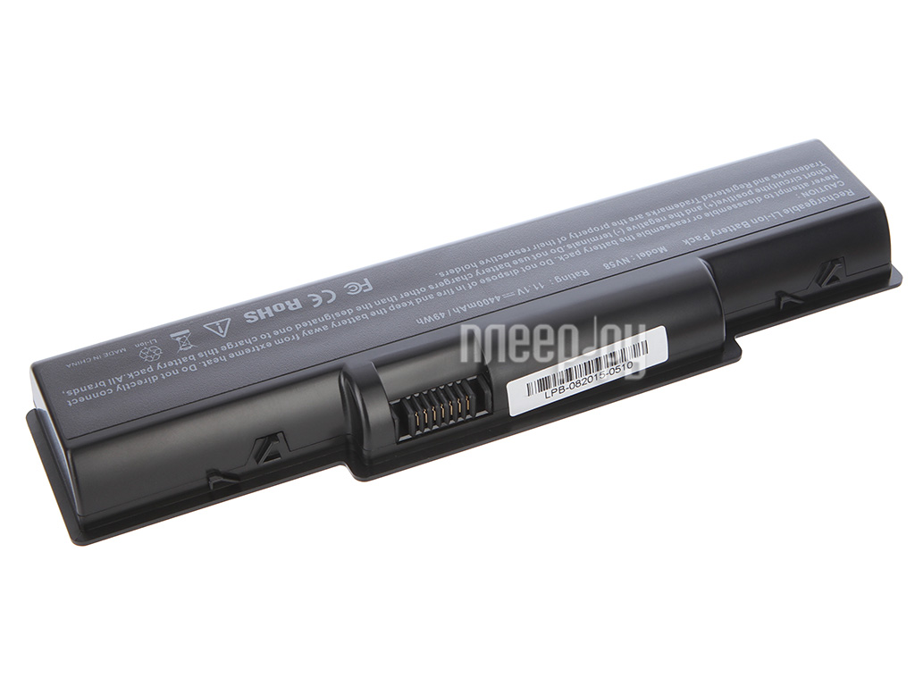 Аккумулятор Tempo LPB-5532 11.1V 4400mAh for Acer Aspire 4732/5334/5516/5517/5532/5732/5734 eMachines/D525/D725/E527/E625/E627