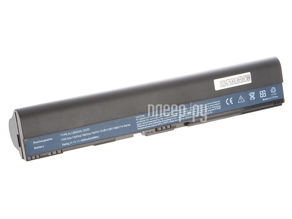 Аккумулятор Tempo LPB-756 11.1V 4400mAh for Acer Aspire One 725 / 756 / V5-131 / V5-171 TravelMate / B113