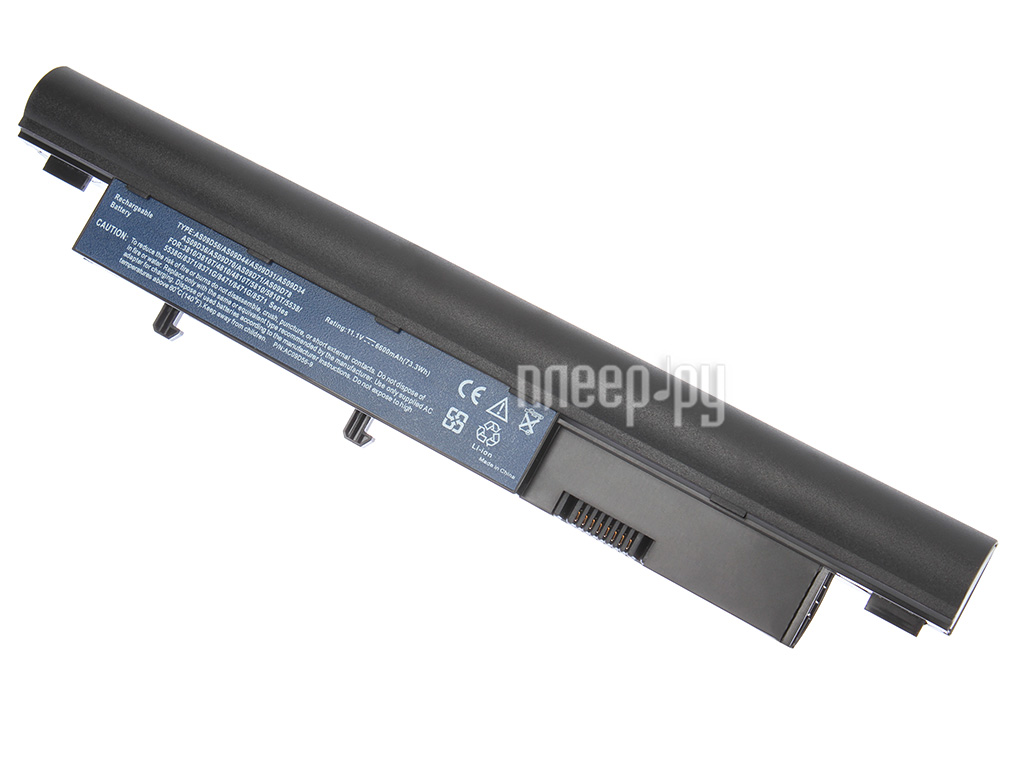 Аккумулятор Tempo LPB-3810H 10.8V 6600mAh for Acer Aspire Timeline 3410T / 3810T / 4810T / 5810T / 5538G / 3750G TravelMate / 8371 / 8471 / 8571