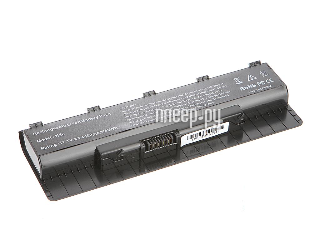 Аккумулятор Tempo LPB-N56 11.1V 4400mAh for ASUS N46/N56/N76 Series