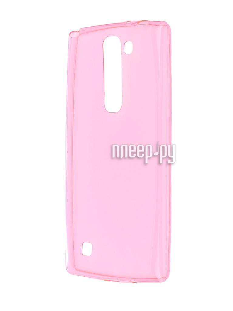 Аксессуар Чехол-накладка LG G4C H522y Gecko Pink S-G-LGG4C-PINK