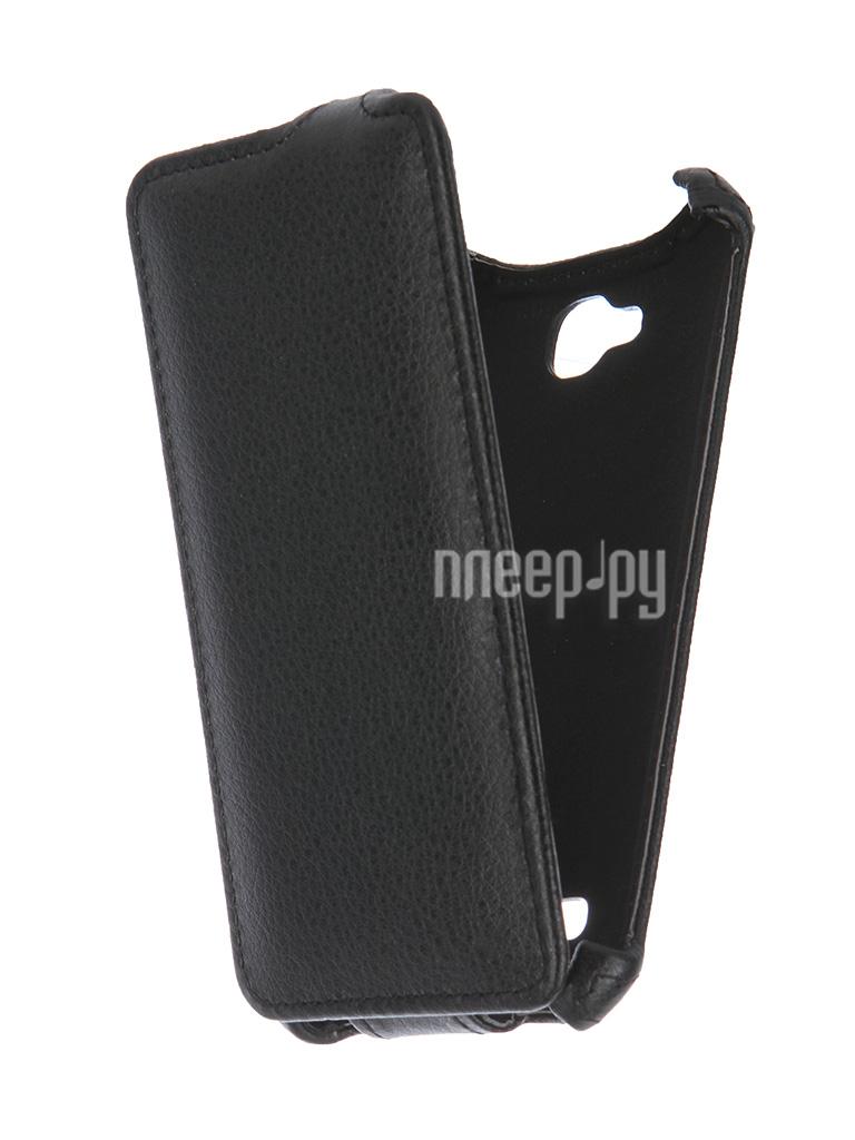 Аксессуар Чехол-флип Micromax Q324 Bolt Gecko Black