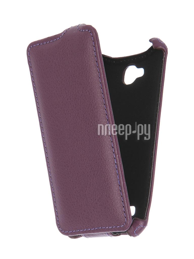 Аксессуар Чехол-флип Micromax Q324 Bolt Gecko Purple GG-F-MICQ324-VIO