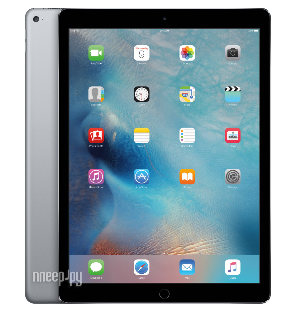 Планшет APPLE iPad Pro 12.9 128Gb Wi-Fi + Cellular Space Gray ML2I2RU / A